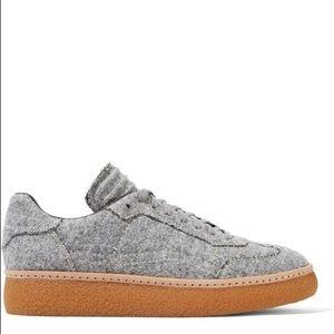 Alexander Wang Eden Felt Low Sneakers Size 40